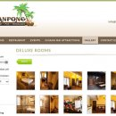 Baanpong Lodge Complete CMS Website